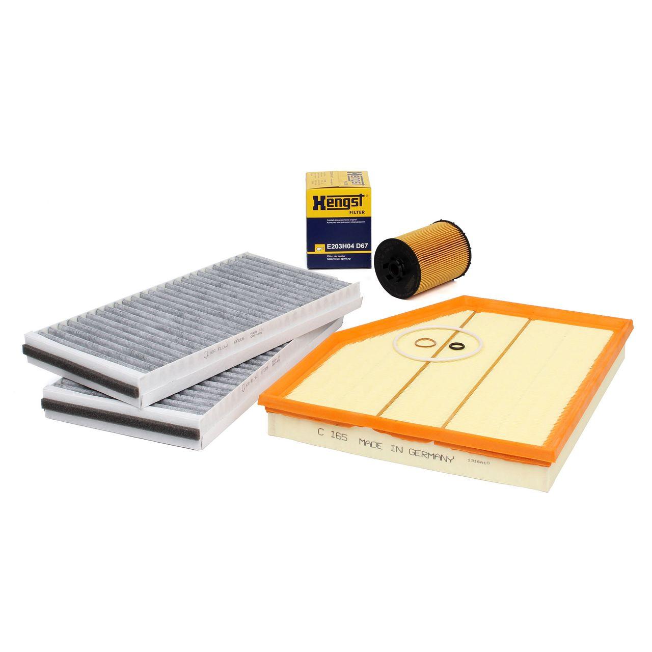 Inspektionskit Filterpaket Filterset für BMW 5er E60 E61 540i 550i 6er E63 650i