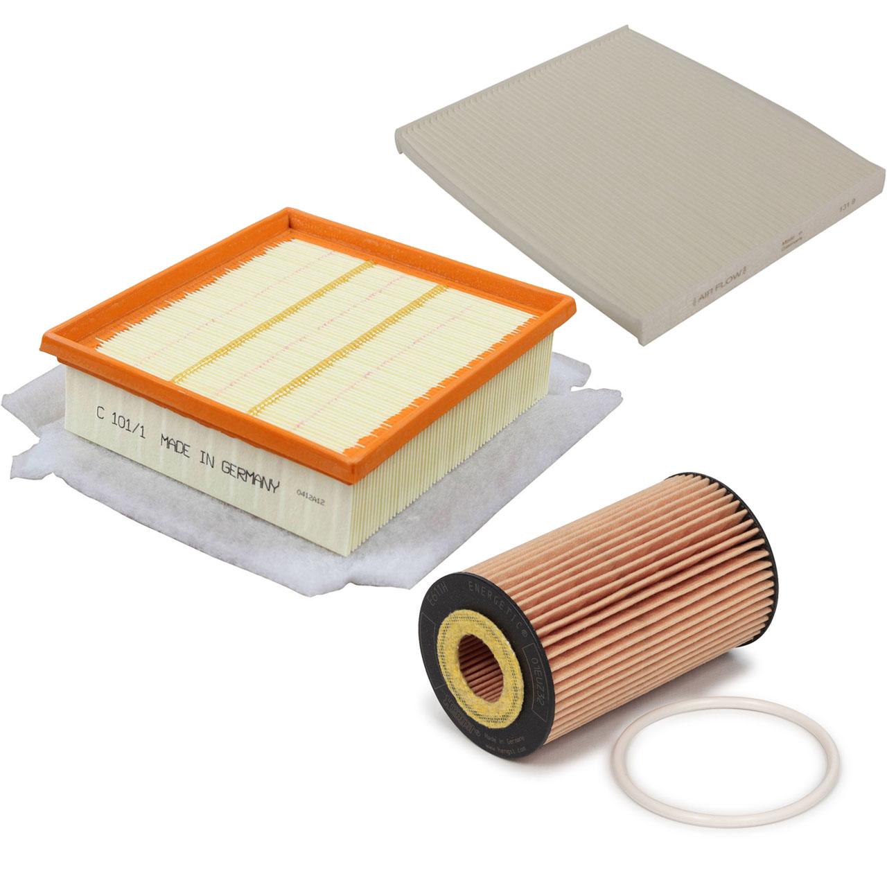 Inspektionskit Filterpaket Filterset für Opel Corsa D 1.4 1.6Turbo OPC 120-211PS