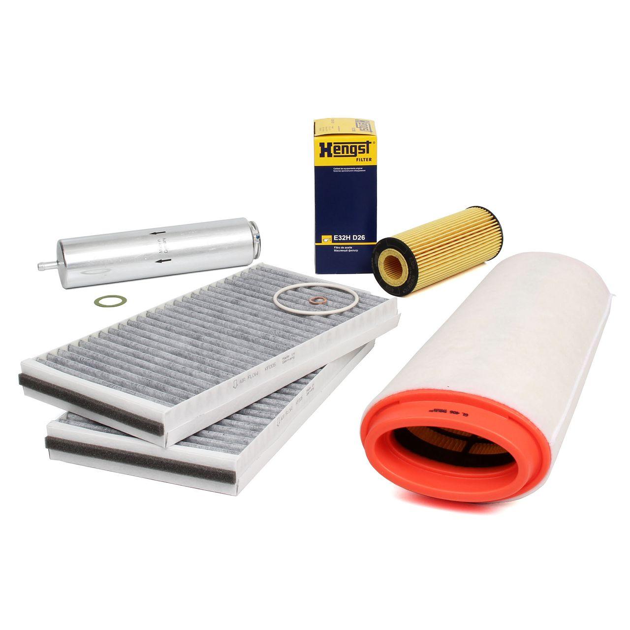 Inspektionskit Filterpaket Filterset für BMW 5er E60 E61 520d 150 / 163PS