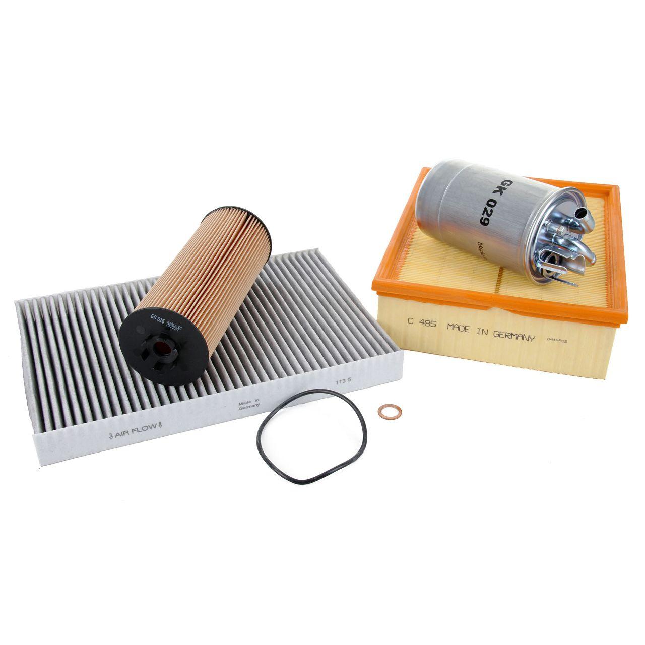 Inspektionskit Filterpaket Filterset für Audi A4 8E B6 B7 2.5TDI 155/163/180 PS