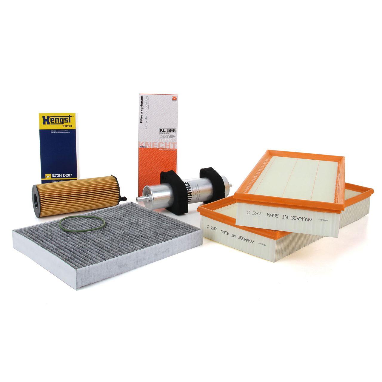 Inspektionskit Filterpaket Filterset für AUDI Q7 4LB 4.2 TDI quattro 340 PS CCFC