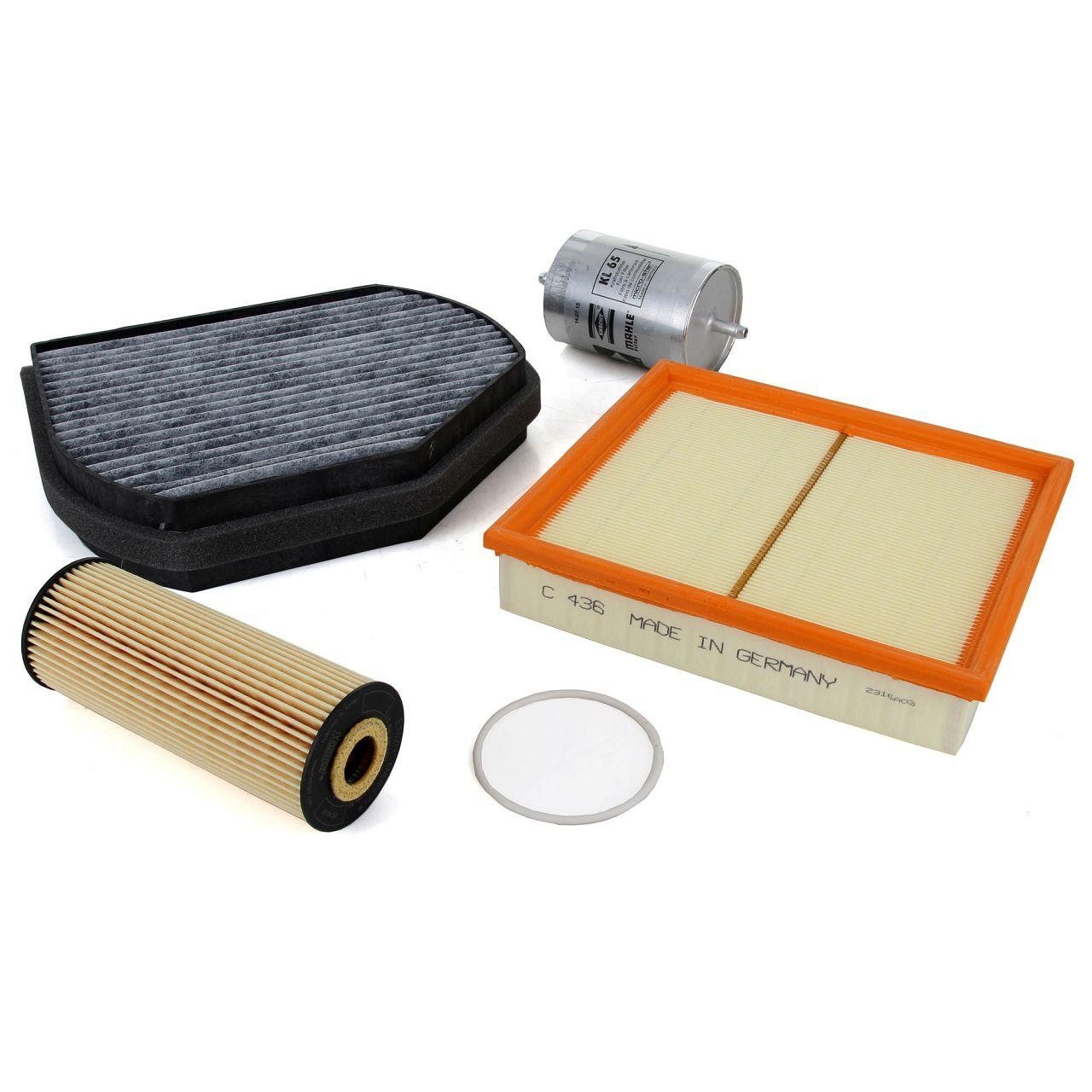 Inspektionskit 4-tlg MERCEDES SLK R170 200 + 200/230 Kompressor 136/192/193PS M111