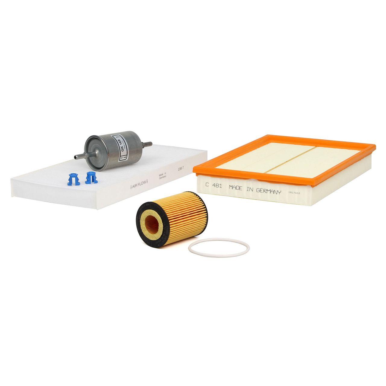 Inspektionskit Filterpaket Filterset für Opel Combo Tigra B Corsa C 1.0 1.2 1.4