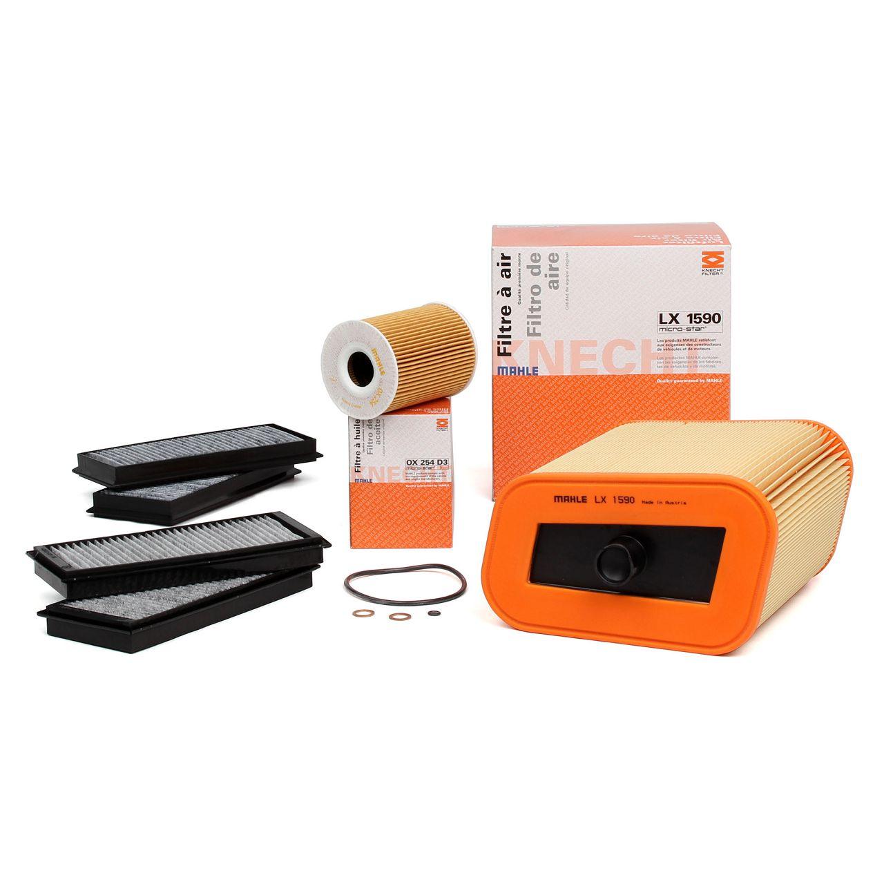 Inspektionskit Filterpaket Filterset für BMW 3er E90 E93 E92 M3 / GTS 420/450 PS