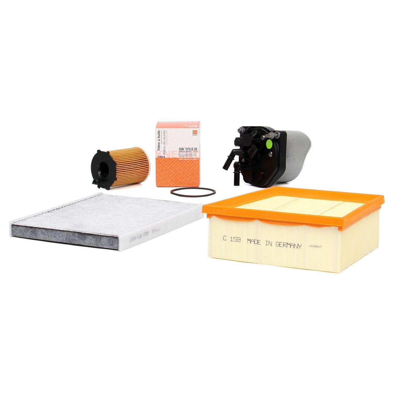 Inspektionskit für FORD B-MAX ECOSPORT FIESTA VI MK6 1.4 TDCi 1.5 TDCi 1.6 TDCi