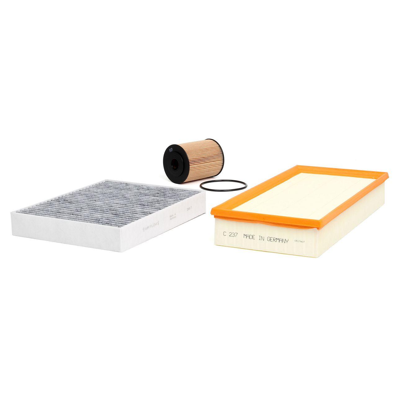 Inspektionskit Filterpaket für PORSCHE CAYENNE (92A) 3.6 300 PS bis 07.2011