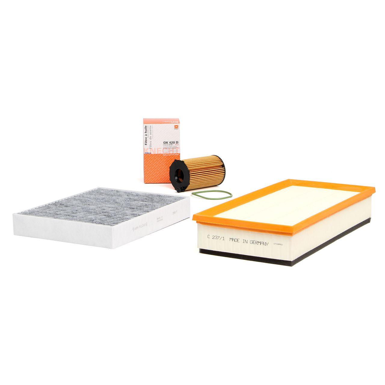 Inspektionskit Filterpaket für VW TOUAREG (7P) 3.0 V6 TDI 204 / 245 / 262 PS