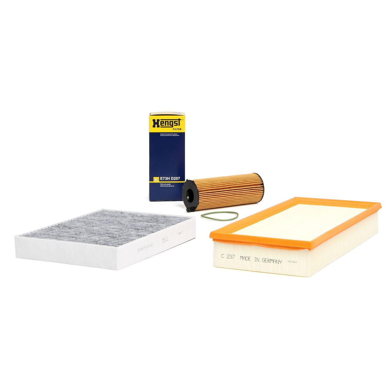 Inspektionskit Filterpaket Filterset für PORSCHE CAYENNE (92A) 3.0 Diesel 239 PS