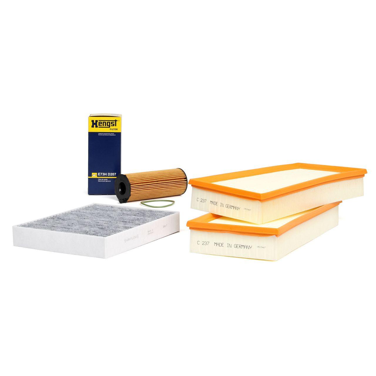 Inspektionskit Filterpaket für PORSCHE CAYENNE (92A) 4.2 S Diesel 385 / 385 PS