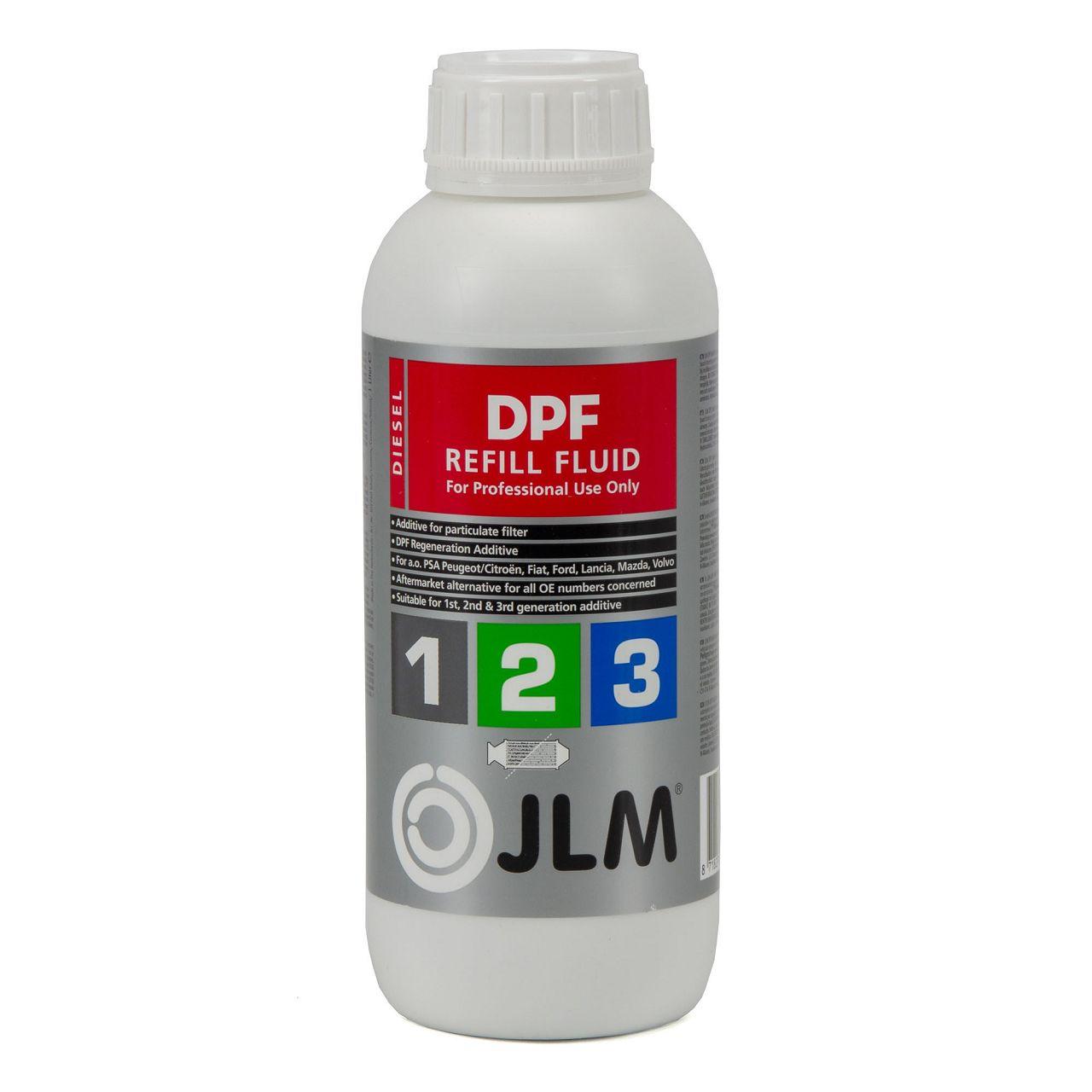 JLM J02260 DPF Nachfüllflüssigkeit Additiv für Dieselpartikelfilter 1000ml 1L