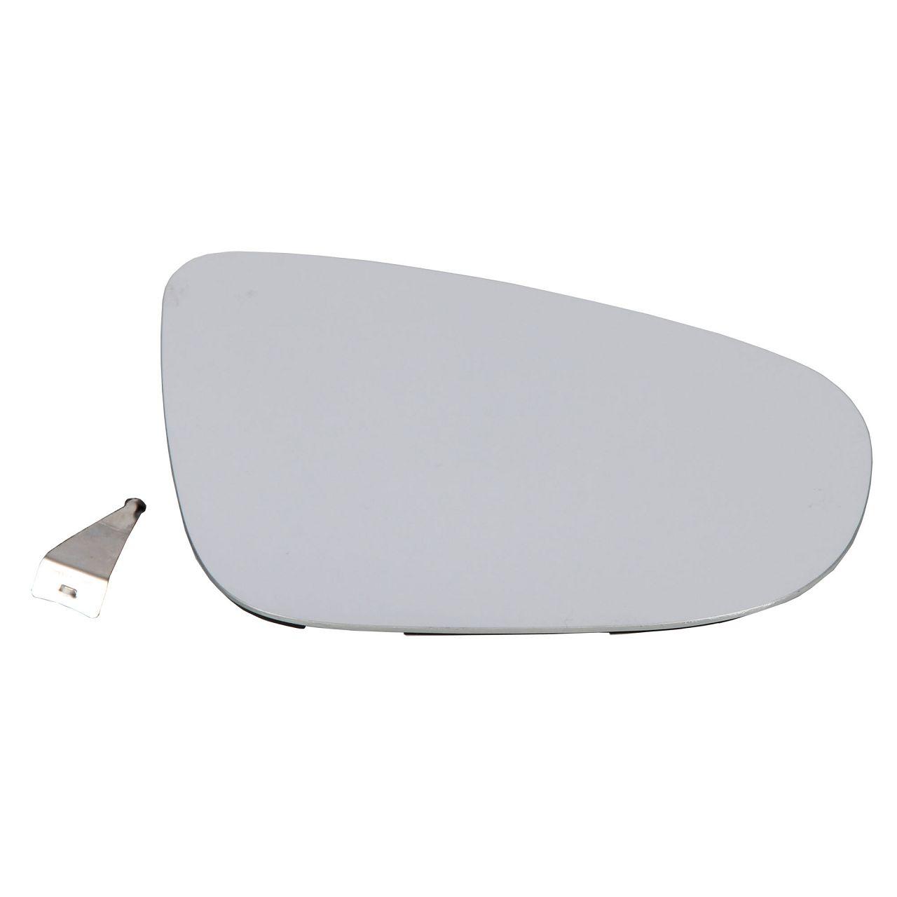 Außenspiegel Spiegelglas ELEKTRISCH für VW Golf VI Touran 1T3 rechts 5K0857522