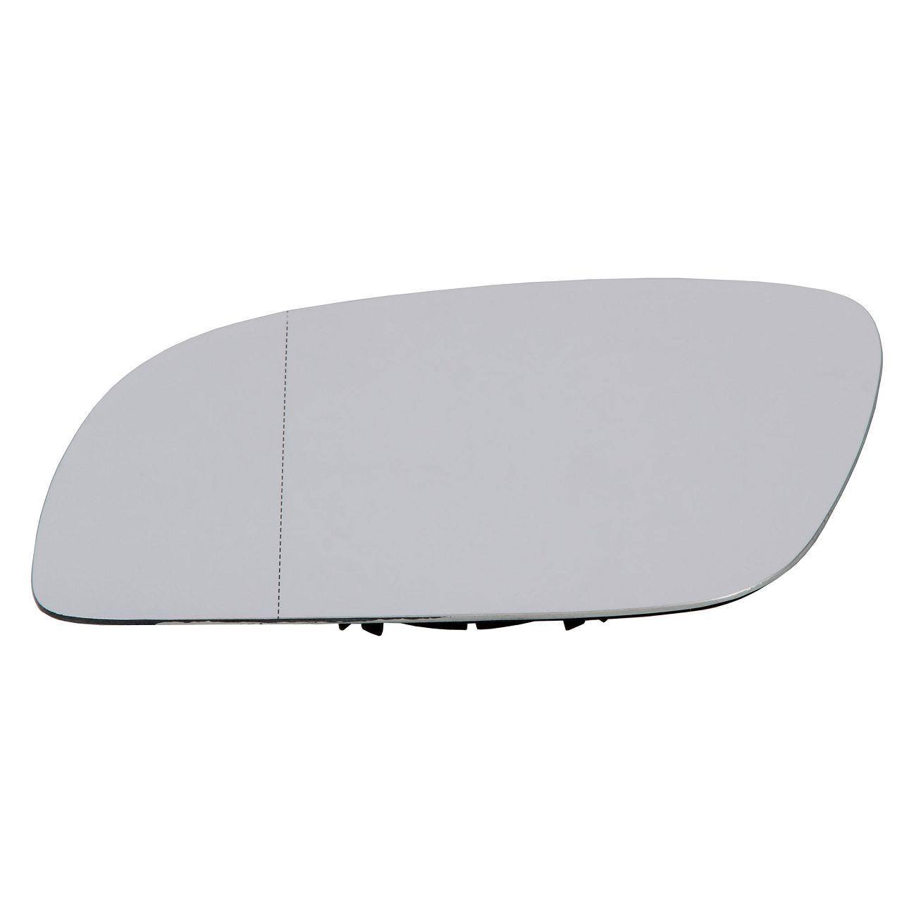 Außenspiegel Spiegelglas ELEKTRISCH für VW Touran 1T1 1T2 links 1T0857521D