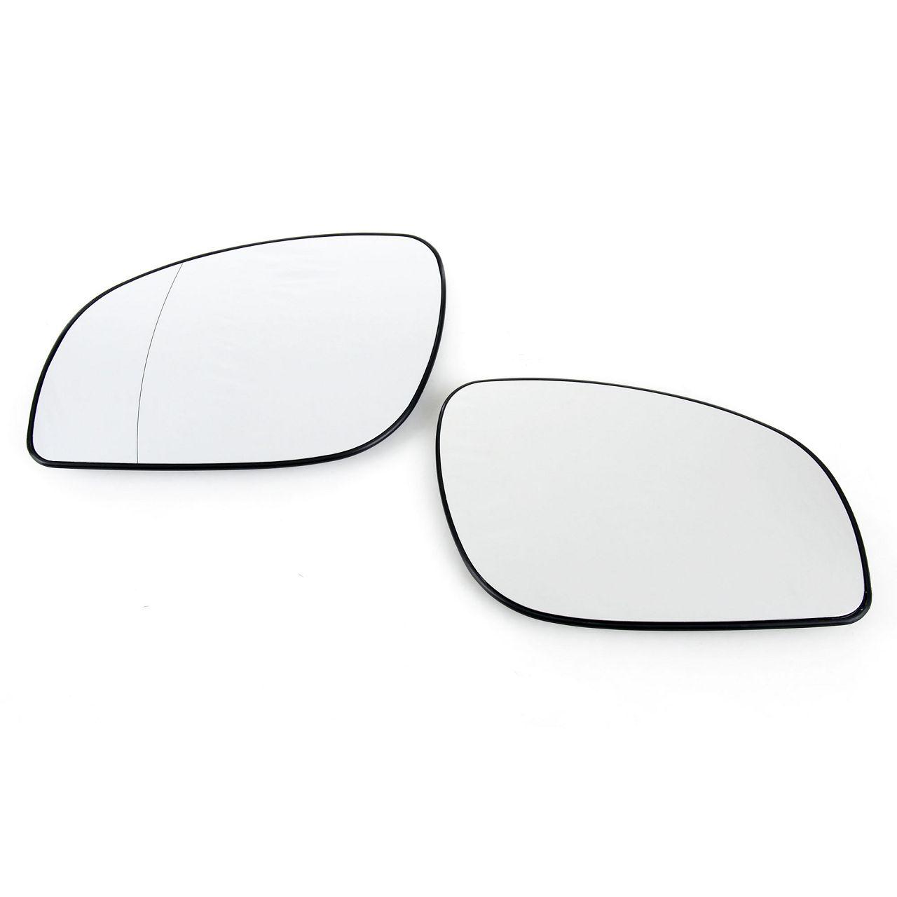 2x Außenspiegel Spiegelglas ELEKTRISCH für OPEL Signum Vectra C links + rechts
