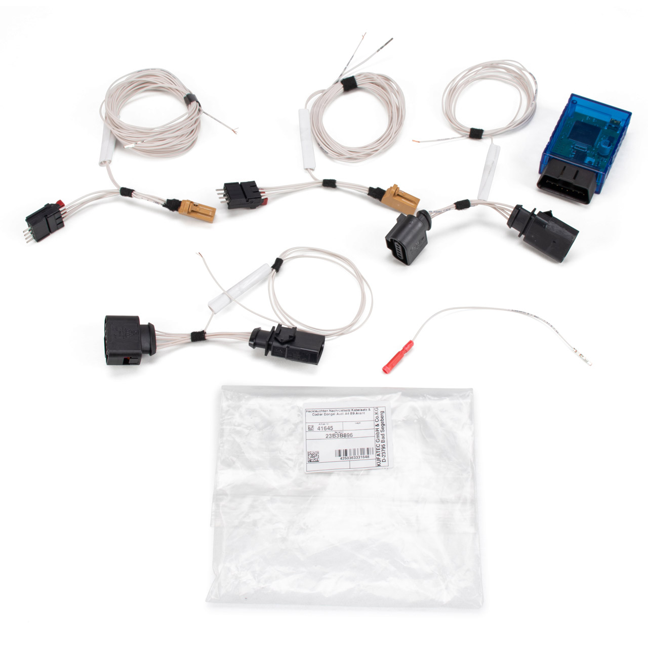 ADAPTER Set Heckleuchten Rückleuchten für LED Umrüstung AUDI A4 AVANT (8W5, B9)