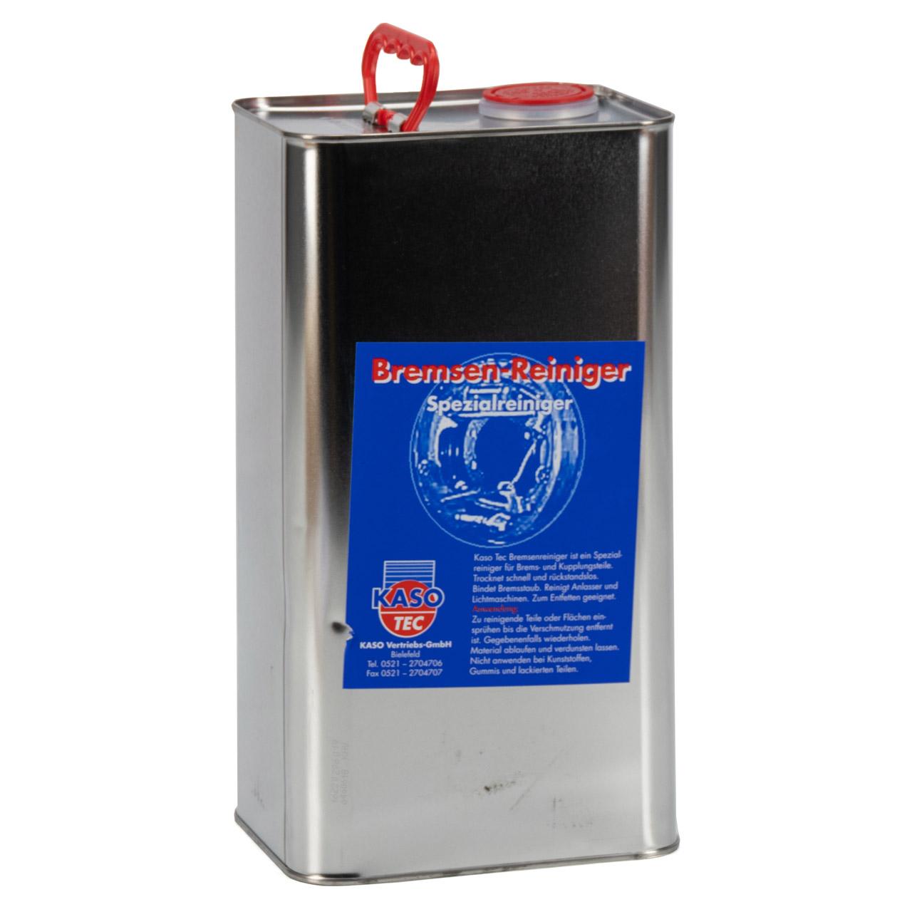 KASOTEC Bremsenreiniger Bremsen Entfetter Montagereiniger Acetonfrei 5L 5 Liter
