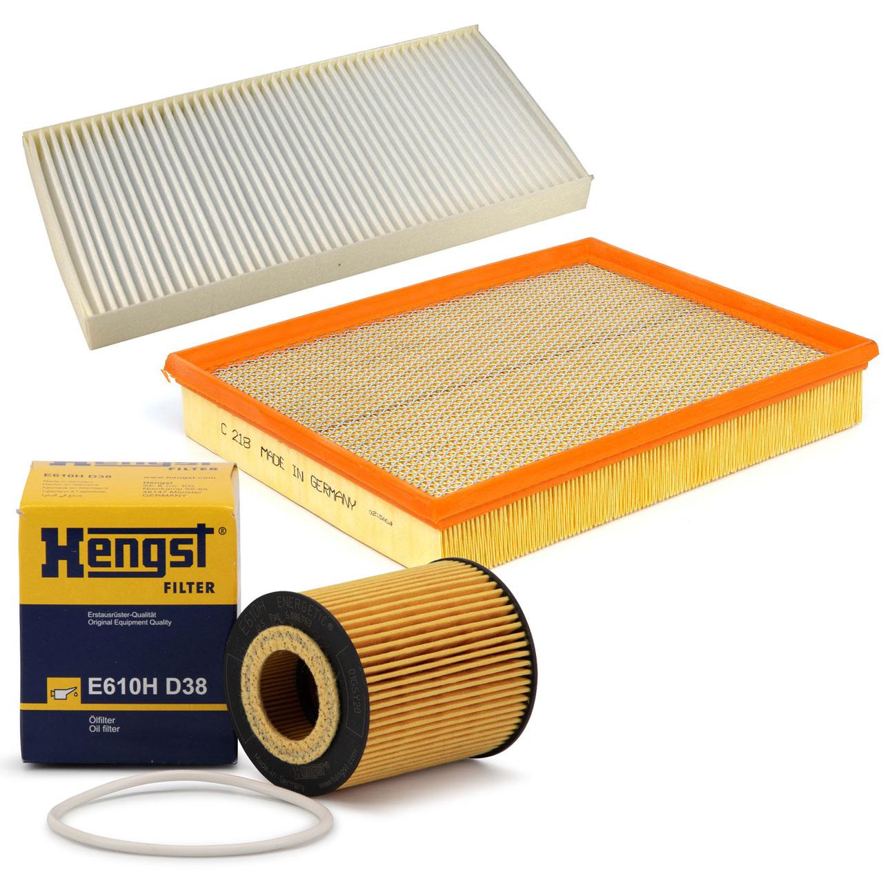 Inspektionskit Filterpaket OPEL Signum CC Vectra C 3.2 V6 211 PS Z32SE