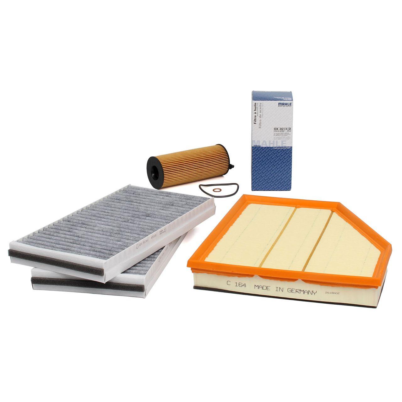 Inspektionskit Filterpaket Filterset BMW 5er E60 E61 520d 163 PS 177 PS N47