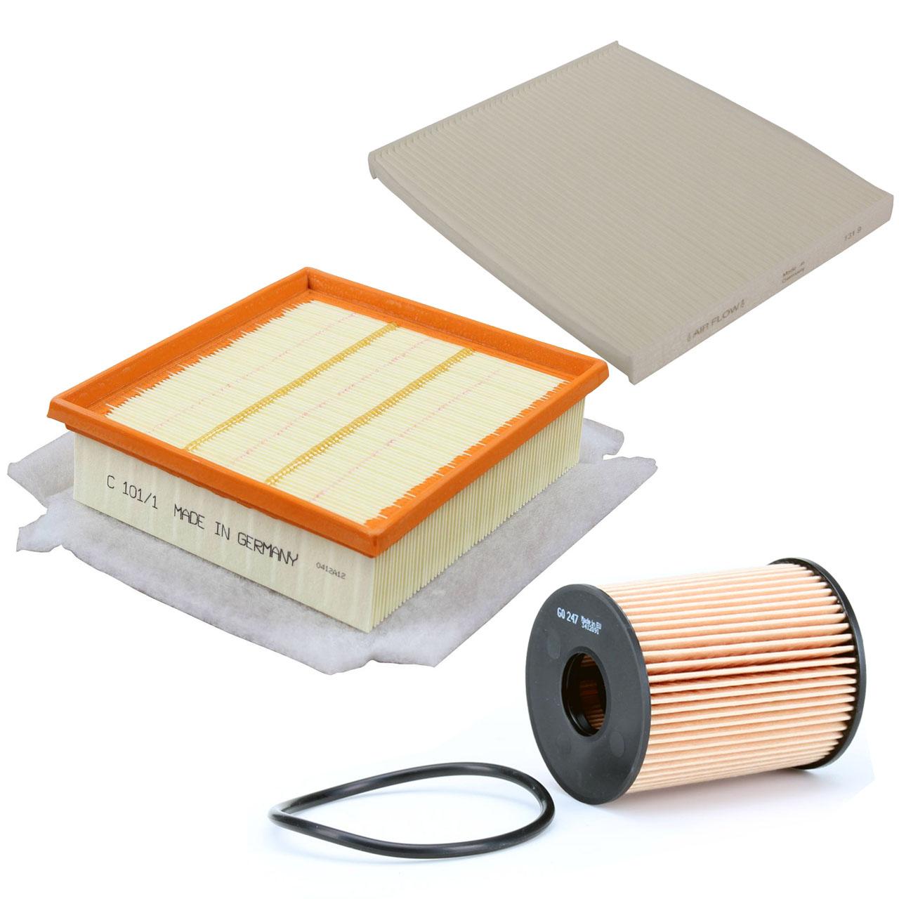 Filterpaket Filterset für Opel Corsa D 1.3CDTI 75/90 PS Z13DTJ Z13DTH