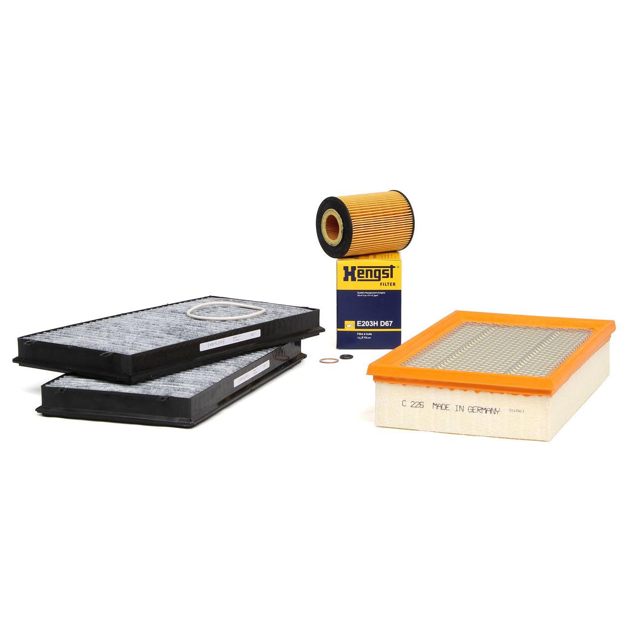 Inspektionskit Filterpaket 3-tlg BMW 7er E65 E66 E67 735i 272 PS + 745i 333 PS N62