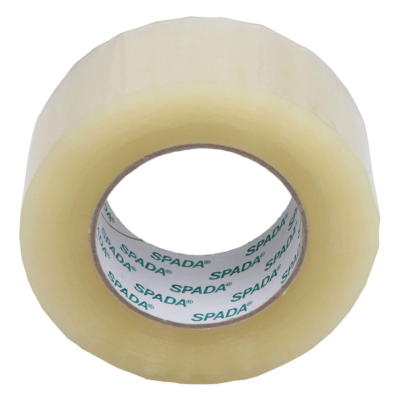 1 Rolle Klebeband Packband Paketband Paketklebeband TRANSPARENT 50mm x 180m