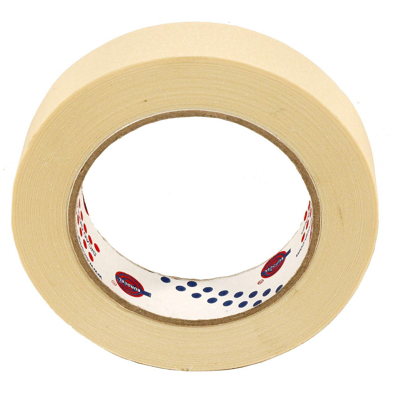 1 Rolle Kreppband Malerkrepp Abklebeband Malerband Kreppklebeband 25mm x 50m
