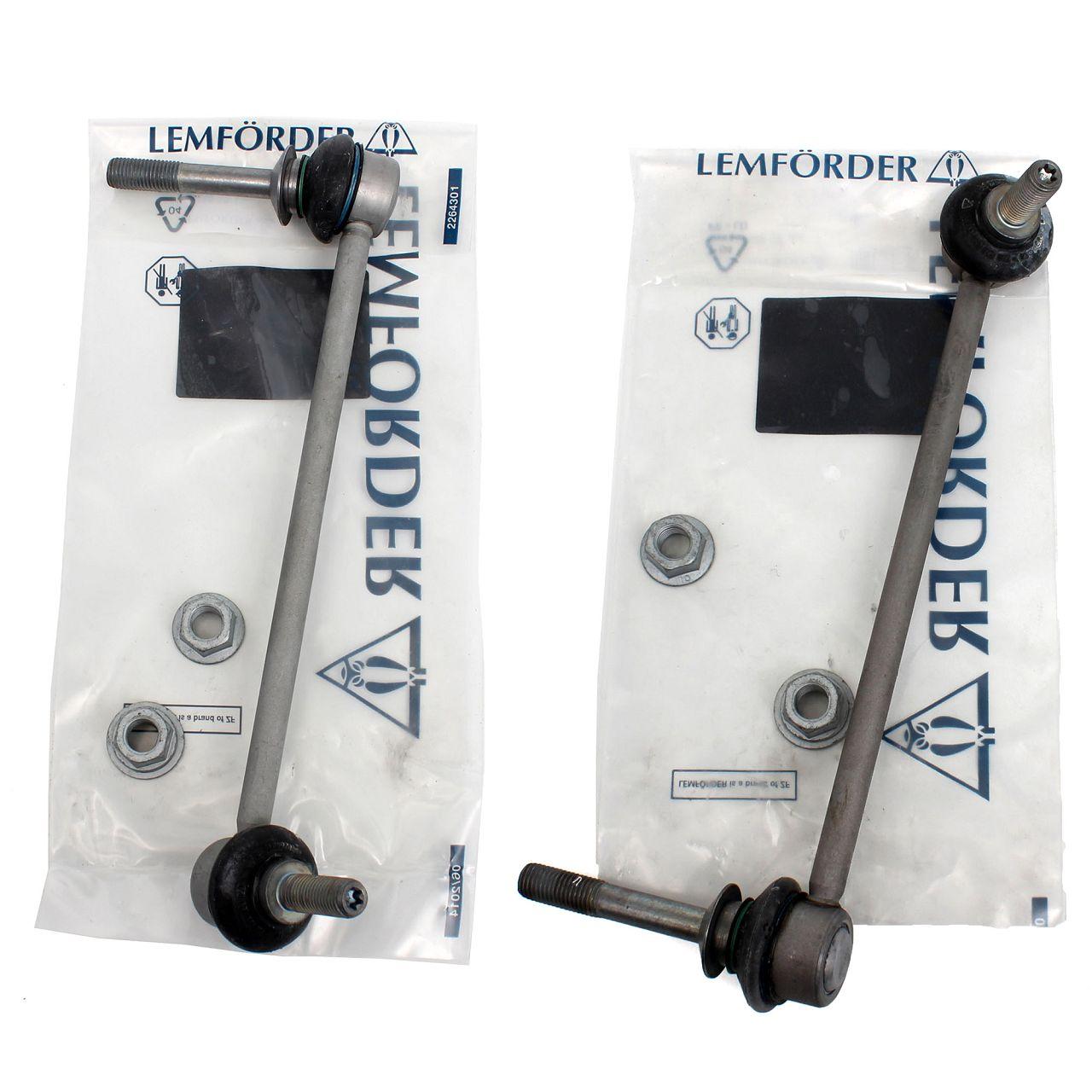 2x LEMFÖRDER Koppelstange Gelenkstange für BMW X5 E70 X6 E71 E72 vorne
