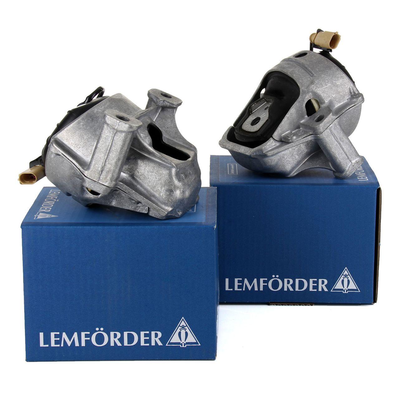 2x LEMFÖRDER Motorlager AUDI A4 B8 A5 8T 8F Q5 8RB 2.7/3.0 TDI links + rechts