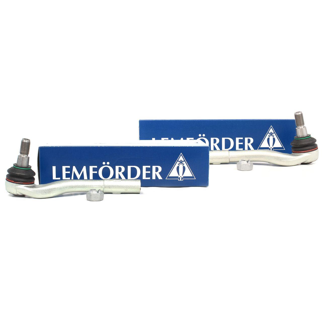 2x LEMFÖRDER Spurstangenkopf MERCEDES W203 S203 CL203 C209 A209 R171 vorne außen
