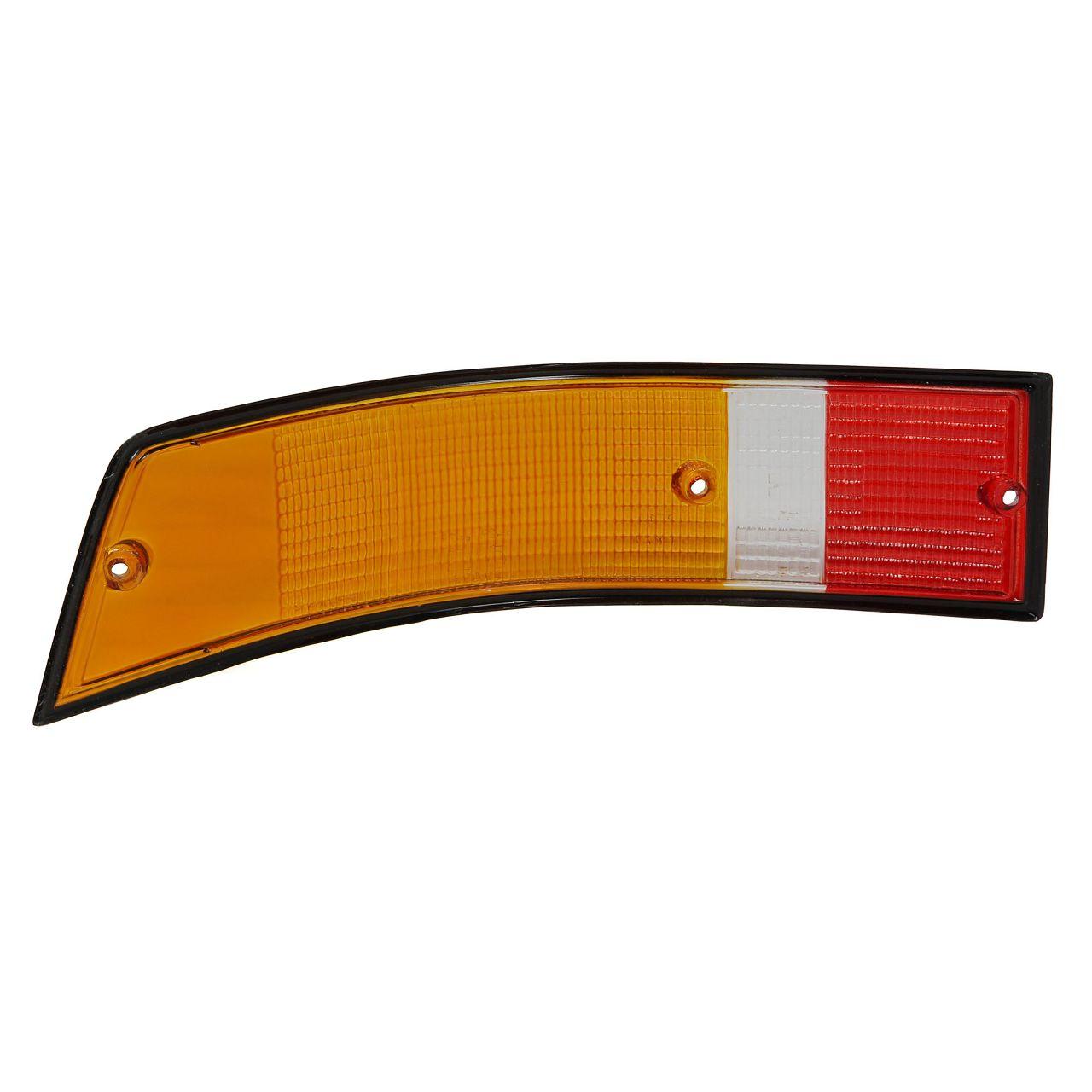 Rücklichtglas SCHWARZ EU-Version für PORSCHE 911 1970-1990 rechts 91163195000