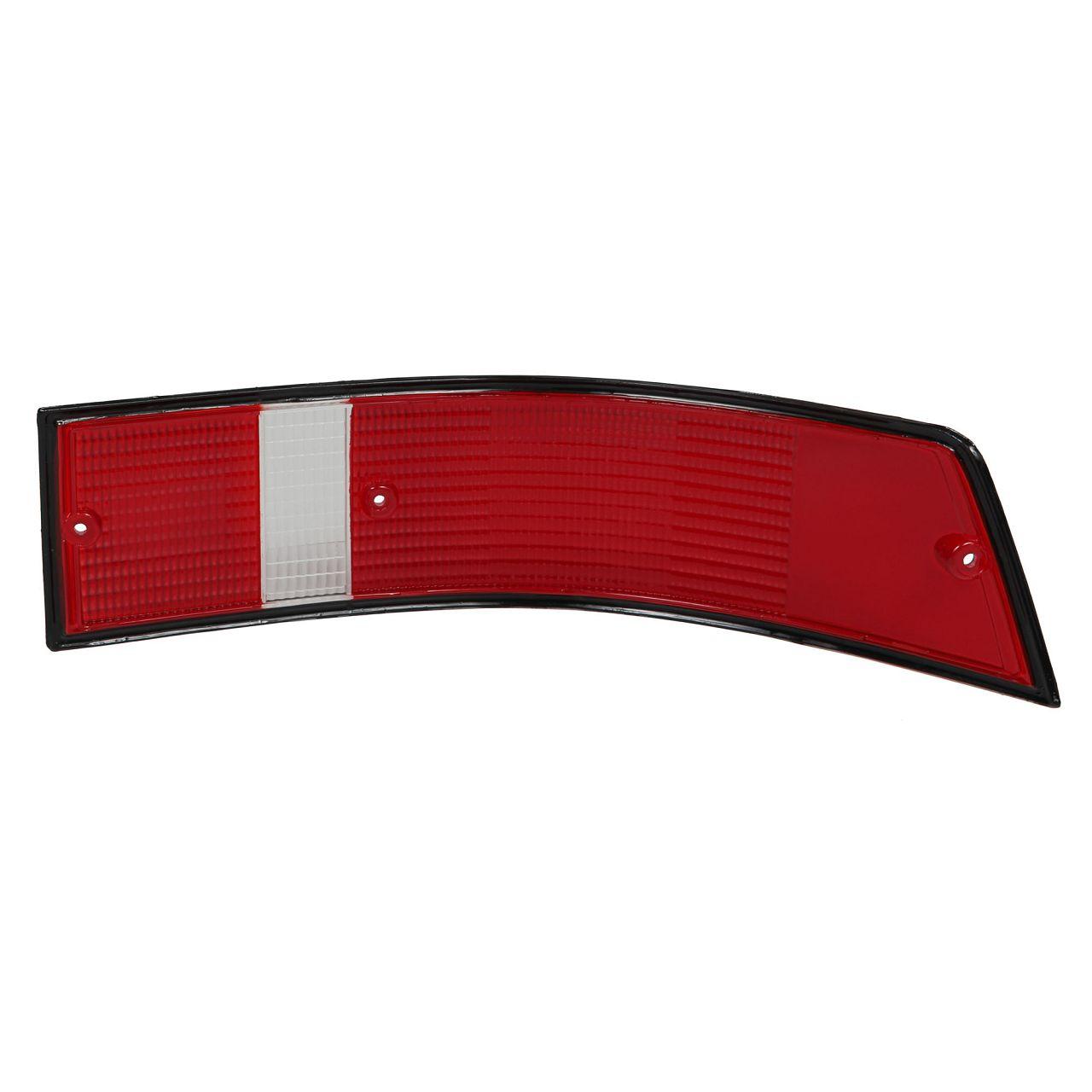 Rücklichtglas SCHWARZ USA-Version für PORSCHE 911 1967-1990 links 91163195100