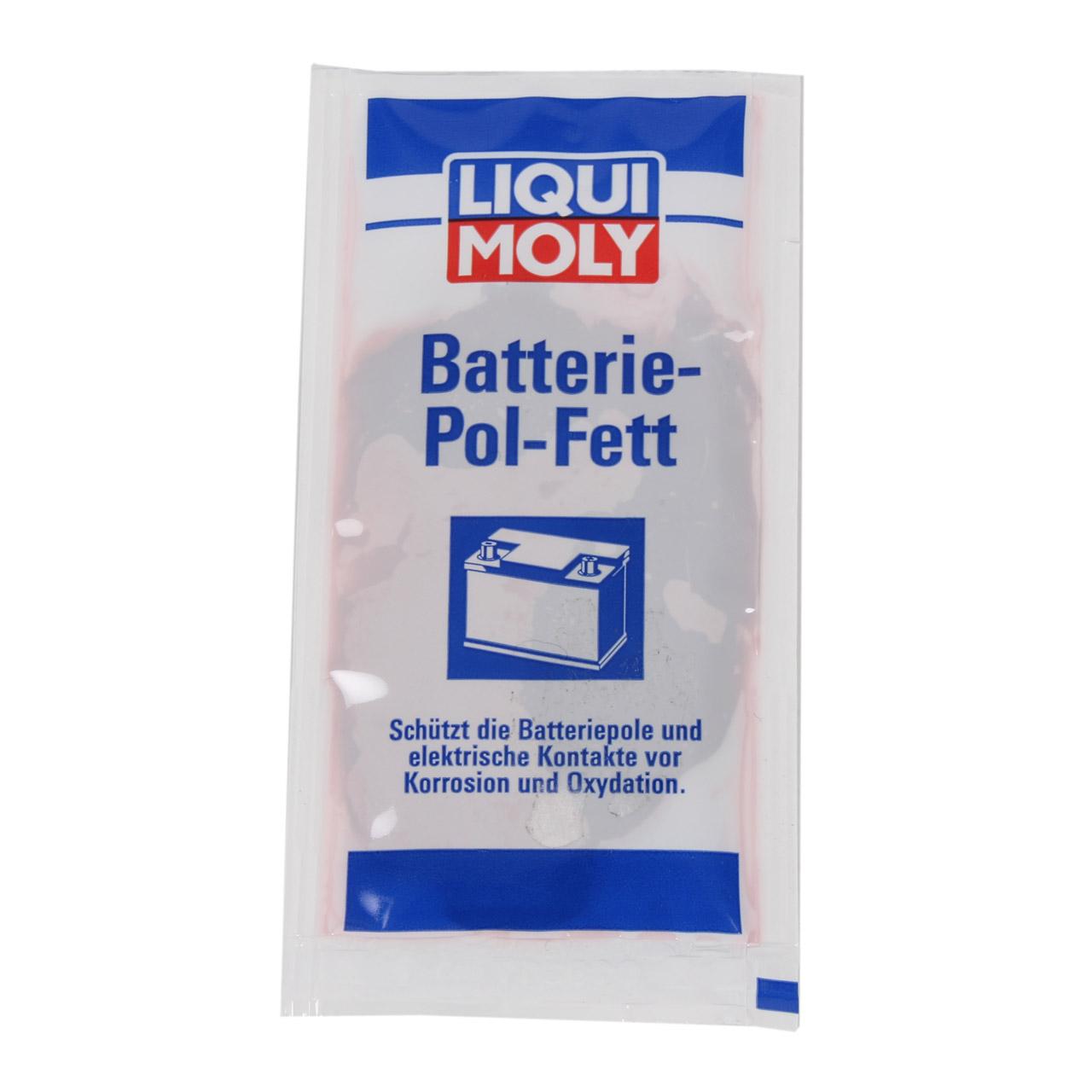 LIQUI MOLY 3139 Batteriepolfett Batterie-Pol-Fett 10 g