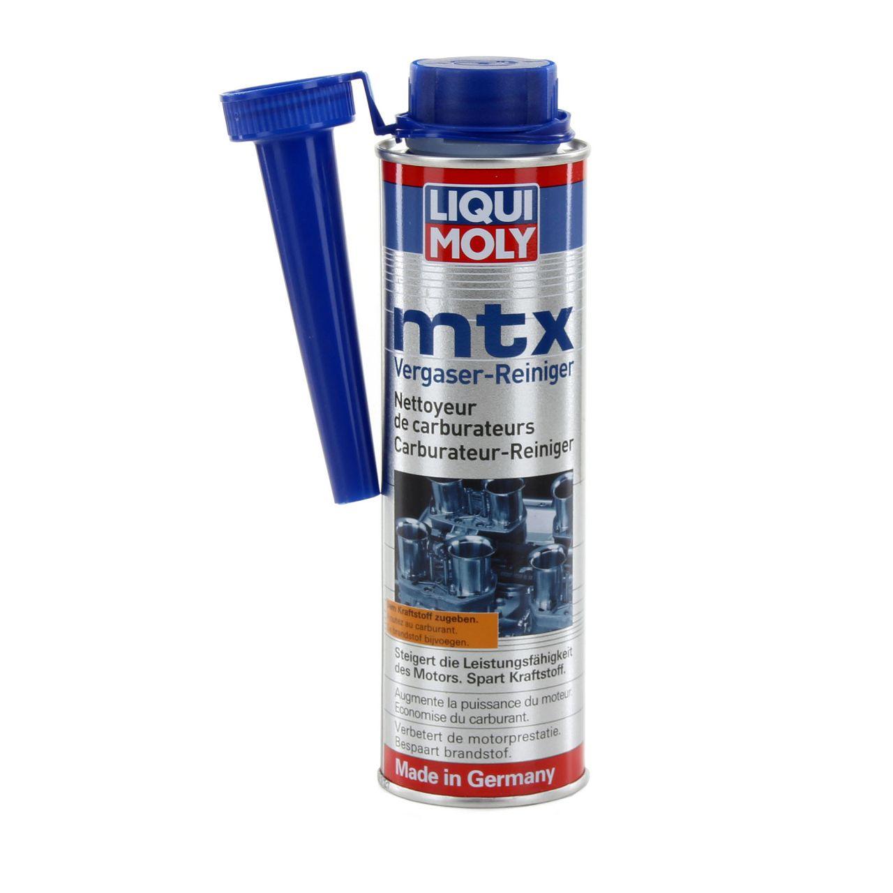 LIQUI MOLY Benzinadditiv MTX Vergaser-Reiniger Vergaserreiniger 300 ml 5100