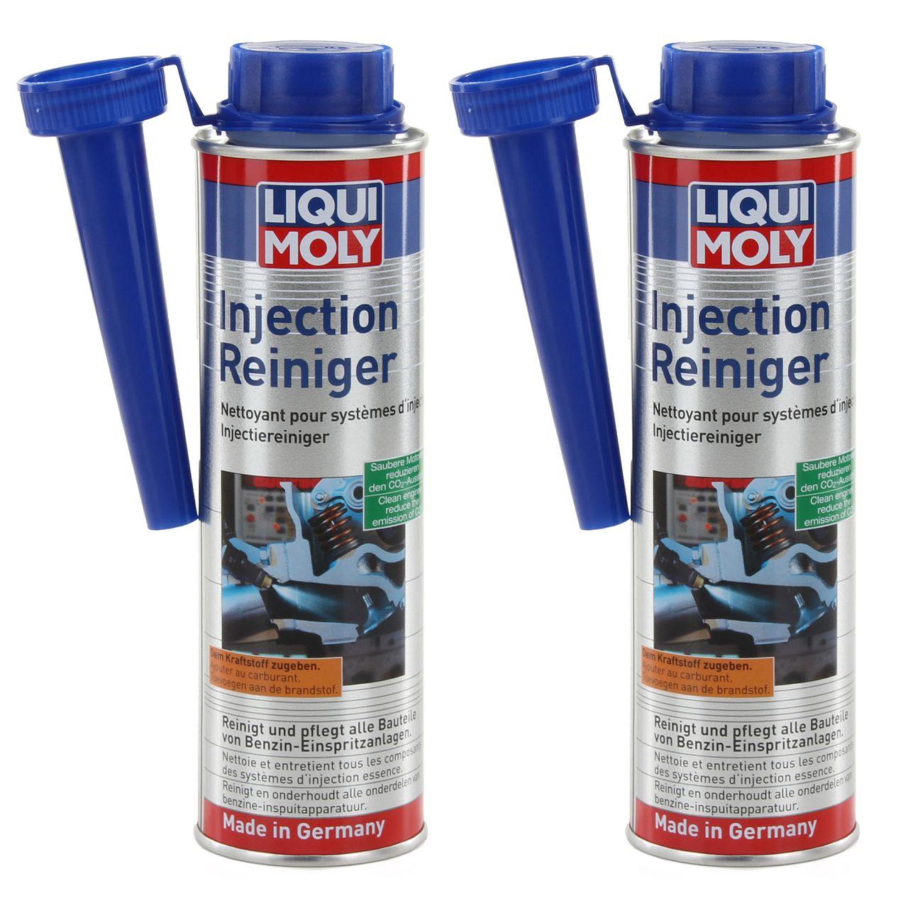 2x 300ml LIQUI MOLY Injectionreiniger Benzin Einspritzanlagen Additiv 5110
