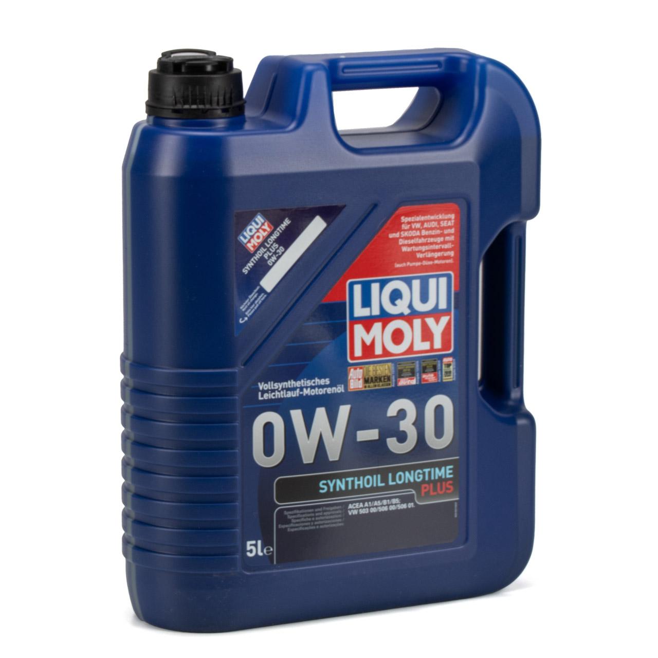 LIQUI MOLY SYNTHOIL LONGTIME PLUS Motoröl Öl 0W30 VW 503/506.00 - 10L 10 Liter