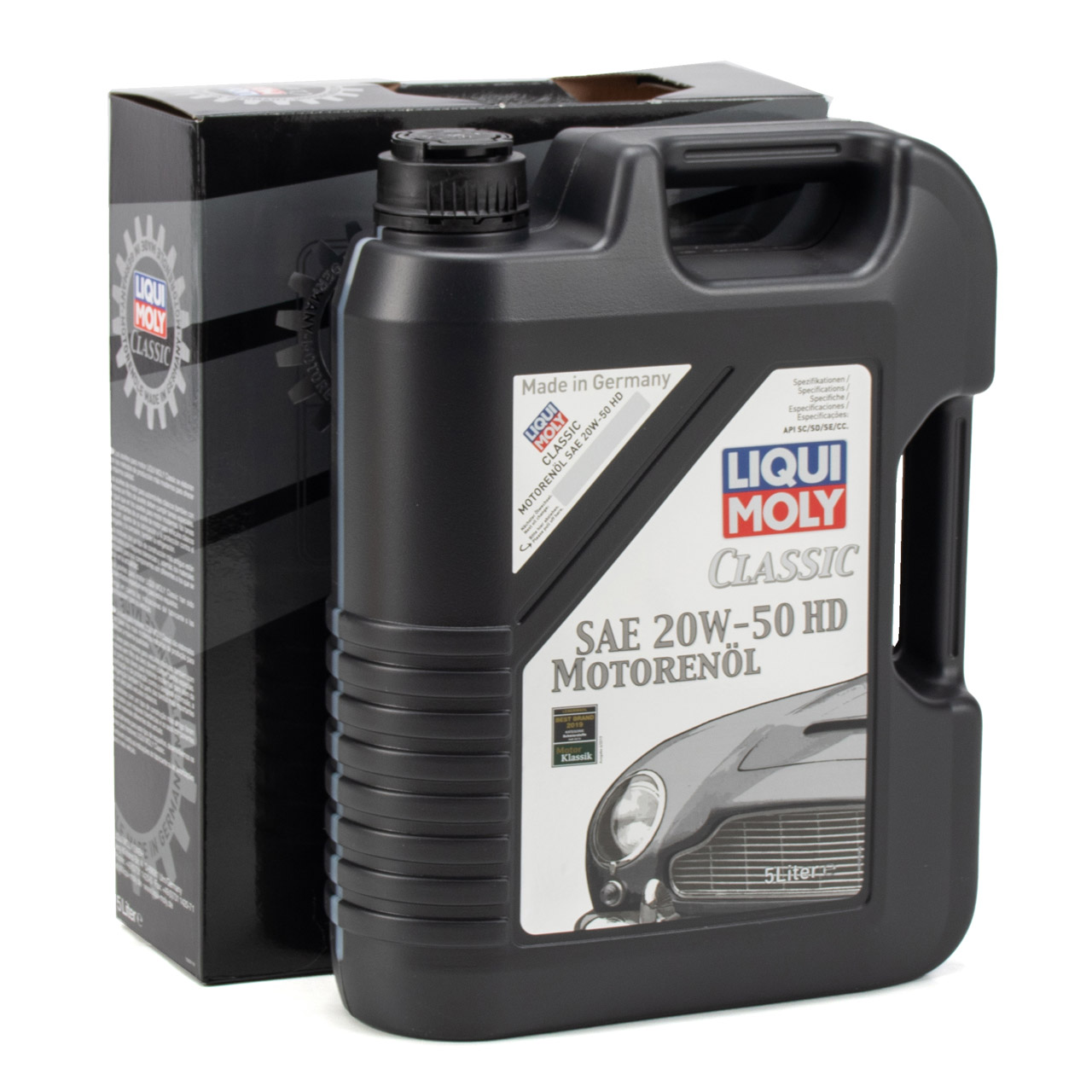 5 Liter 5L LIQUI MOLY Motoröl Öl CLASSIC 20W-50 20W50 HD Oldtimer Youngtimer