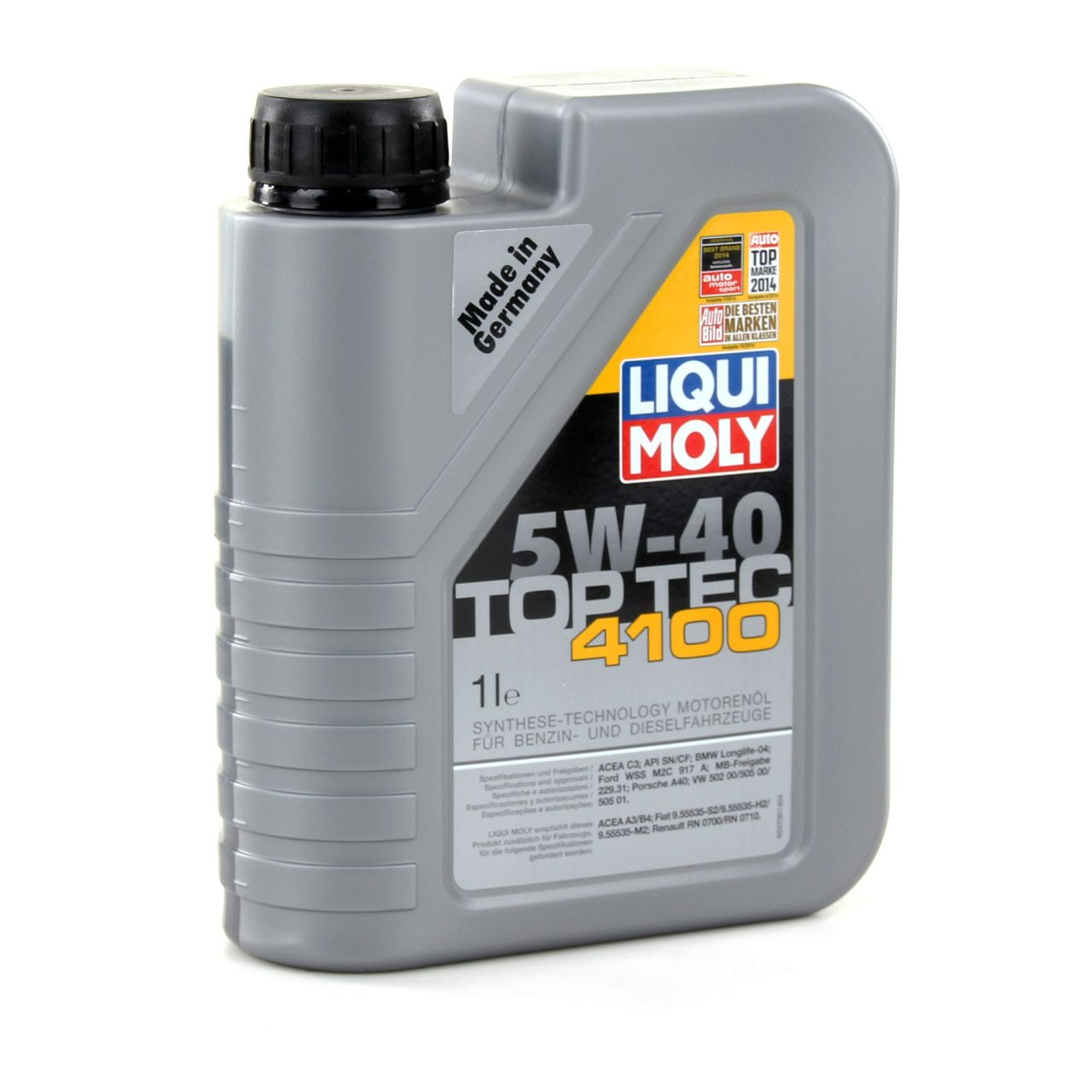 LIQUI MOLY Motoröl Öl TOP TEC 4100 5W40 5W-40 6L 6Liter 3700 + 3701