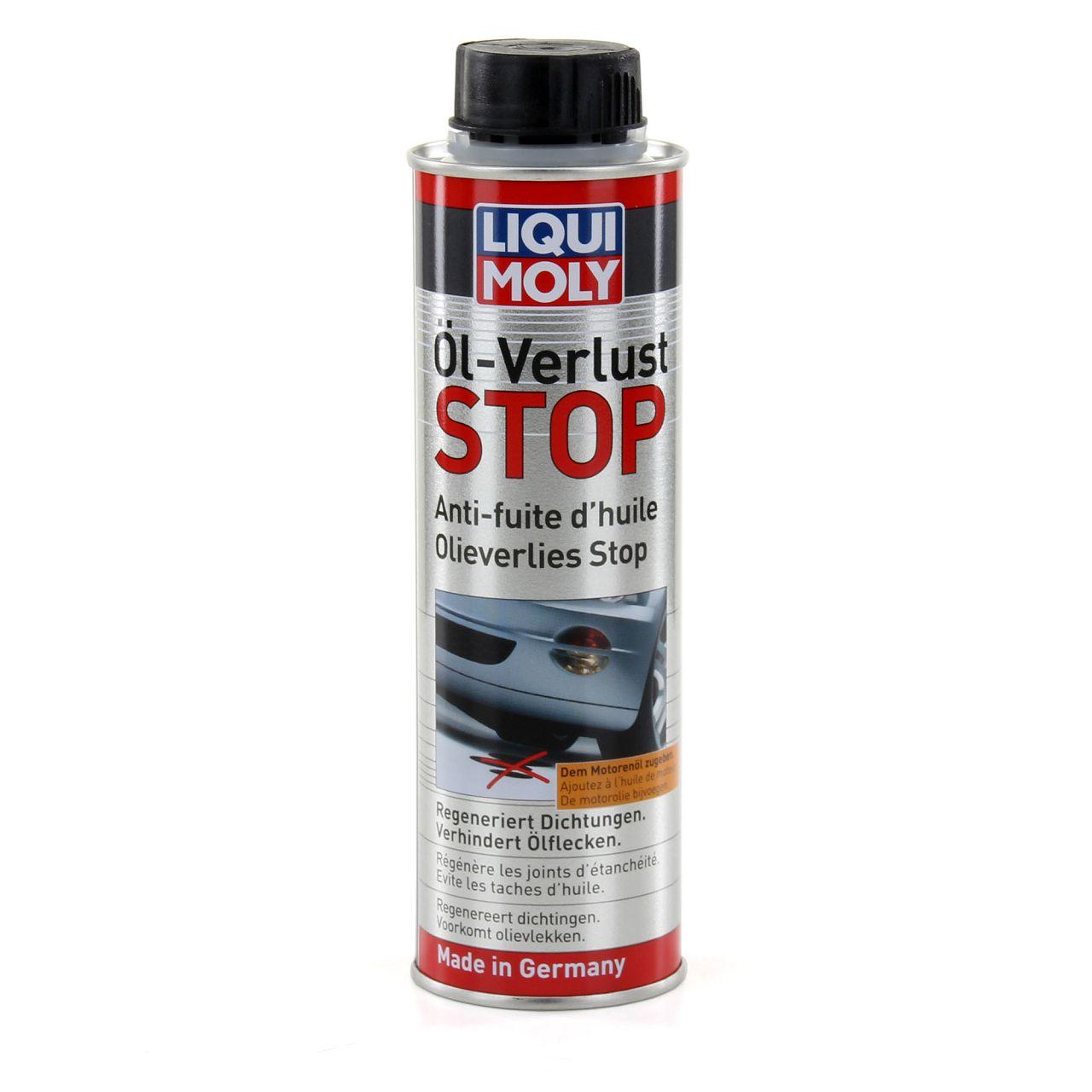 300ml LIQUI MOLY Ölverlust Stop Additiv - schützt vor Leckverlusten 1005