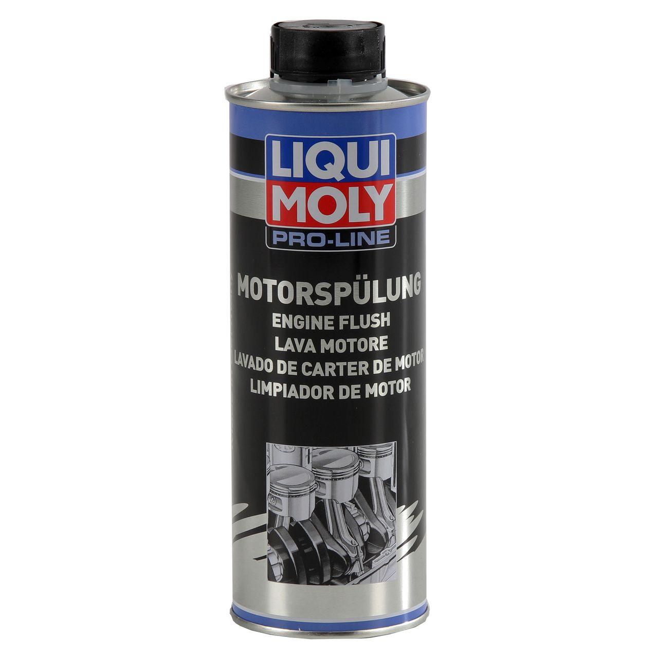 LIQUI MOLY 2427 PRO-LINE Motorspülung Motorreinigung Schlammspülung 500 ml