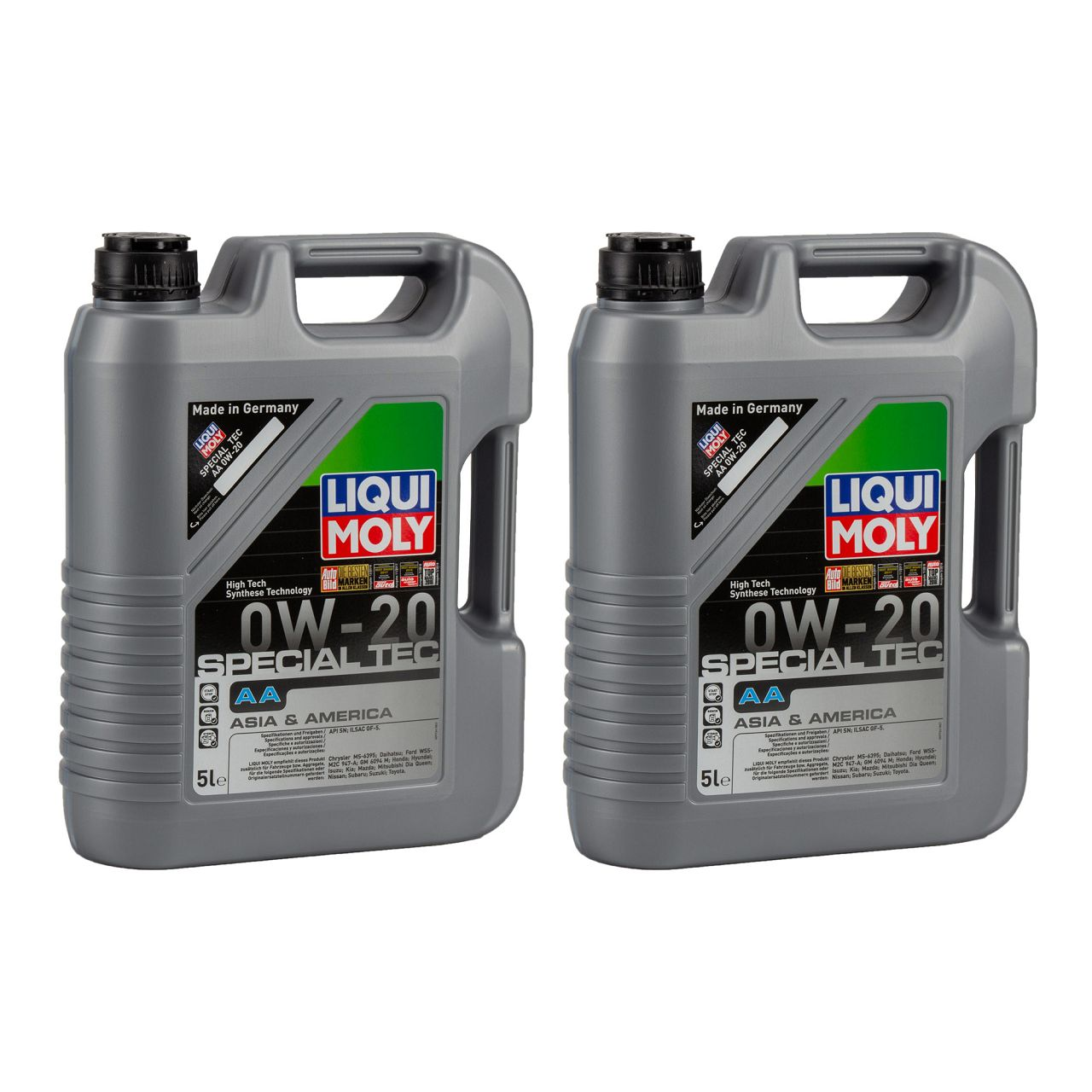 10L 10 Liter LIQUI MOLY 9734 Motoröl Öl SPECIAL TEC AA 0W-20 0W20 ASIA AMERICA