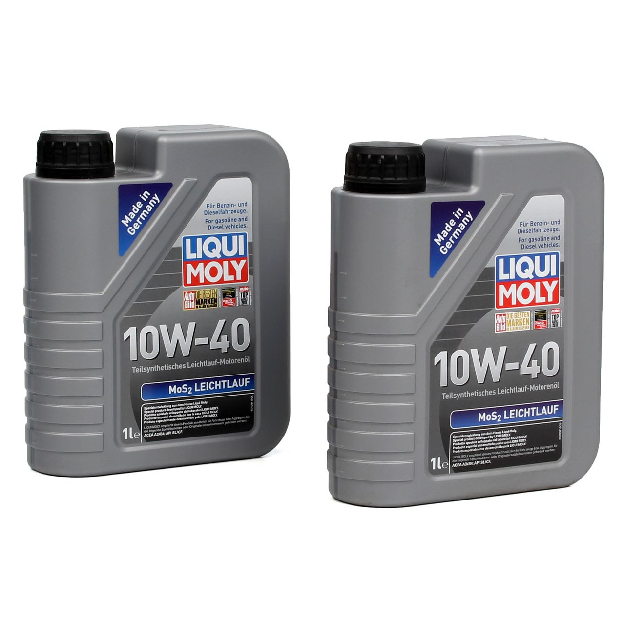 LIQUI MOLY Motoröl Öl MoS2 LEICHTLAUF 10W40 10W-40 2L 2Liter 1091