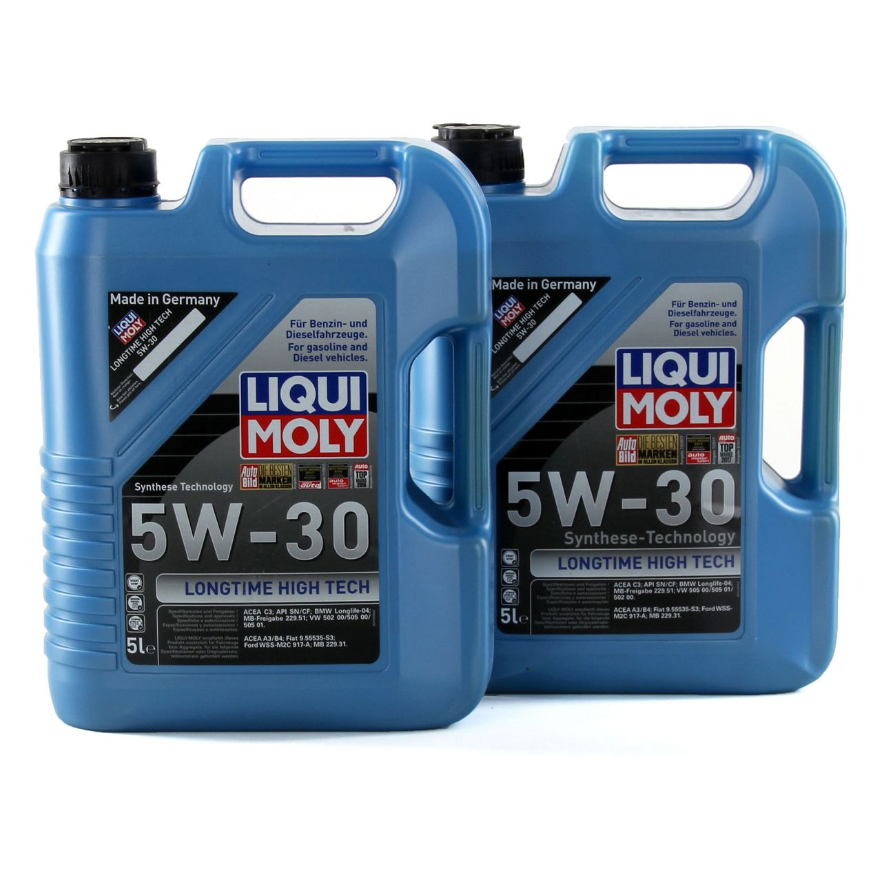 LIQUI MOLY Motoröl Öl LONGTIME HIGH TECH 5W30 5W-30 10L 10Liter 1137
