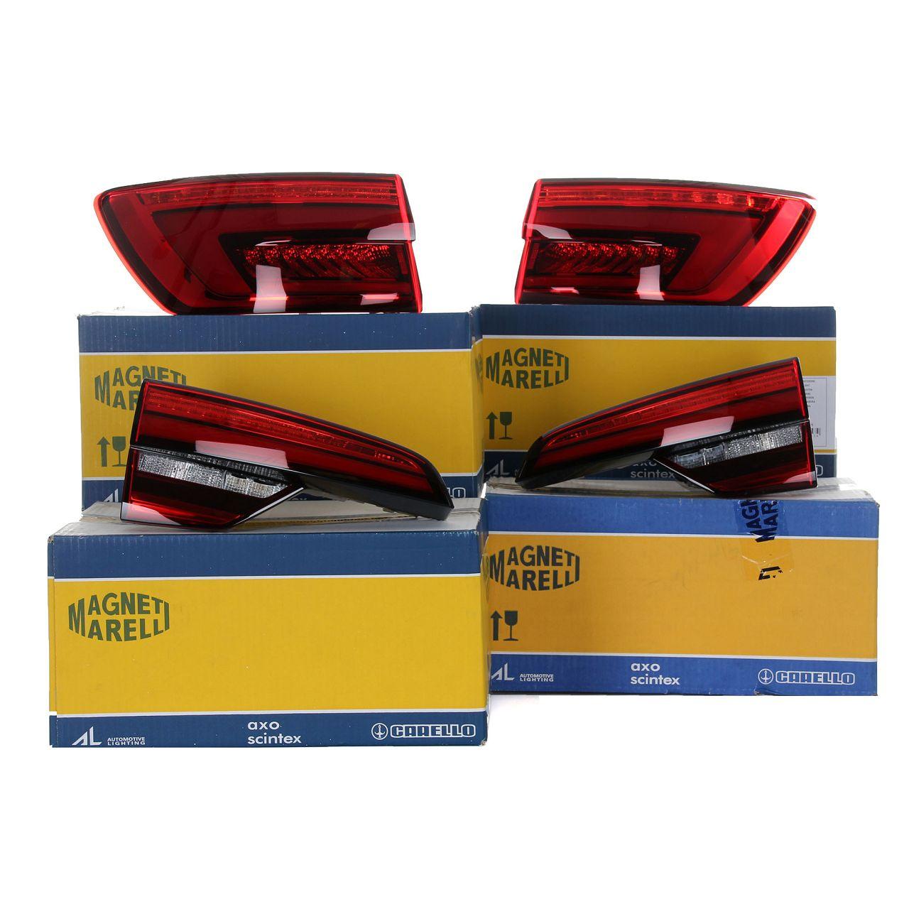 MAGNETI MARELLI Heckleuchte Rückleuchten Set LED für AUDI A4 AVANT (8W5 B9)