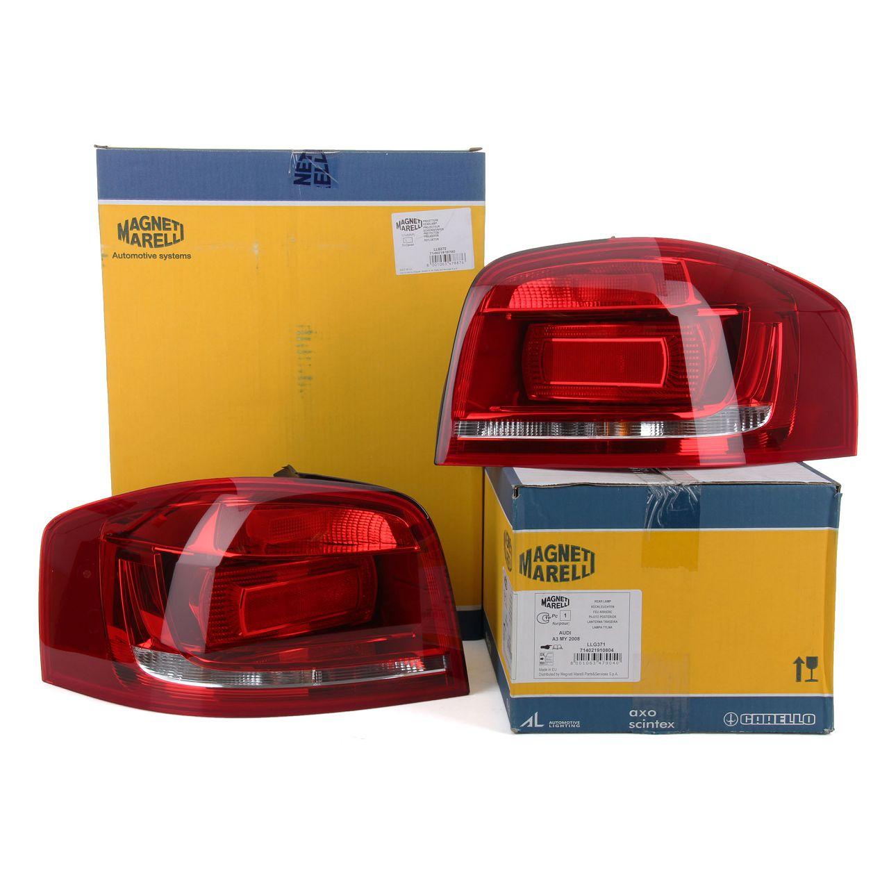 MAGNETI MARELLI Heckleuchte Rückleuchte LED für AUDI A3 S3 (8P1) 3-türig