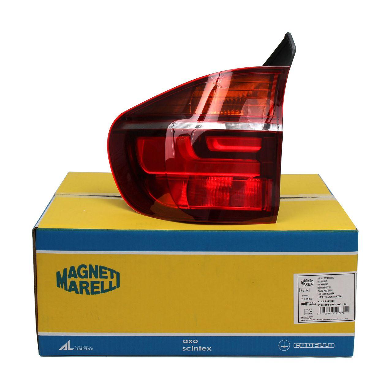 MAGNETI MARELLI Heckleuchte für BMW X5 E70 FACELIFT ab 04.2010 AUSSEN LINKS