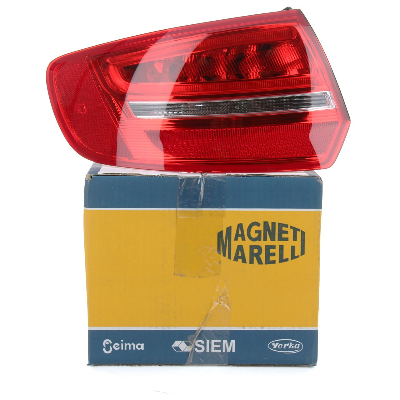 MAGNETI MARELLI Heckleuchte LED AUDI A3 S3 RS3 (8PA) Sportback links aussen