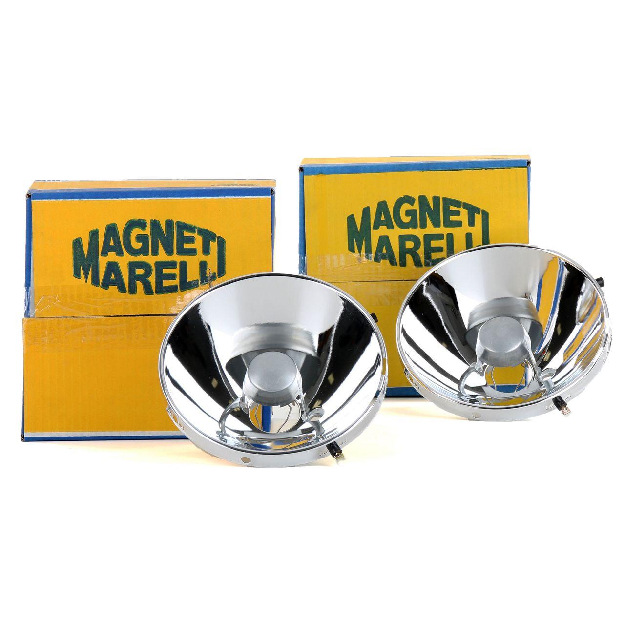 2x MAGNETI MARELLI Reflektor Scheinwerfer Hauptscheinwerfer PORSCHE 911 (964)