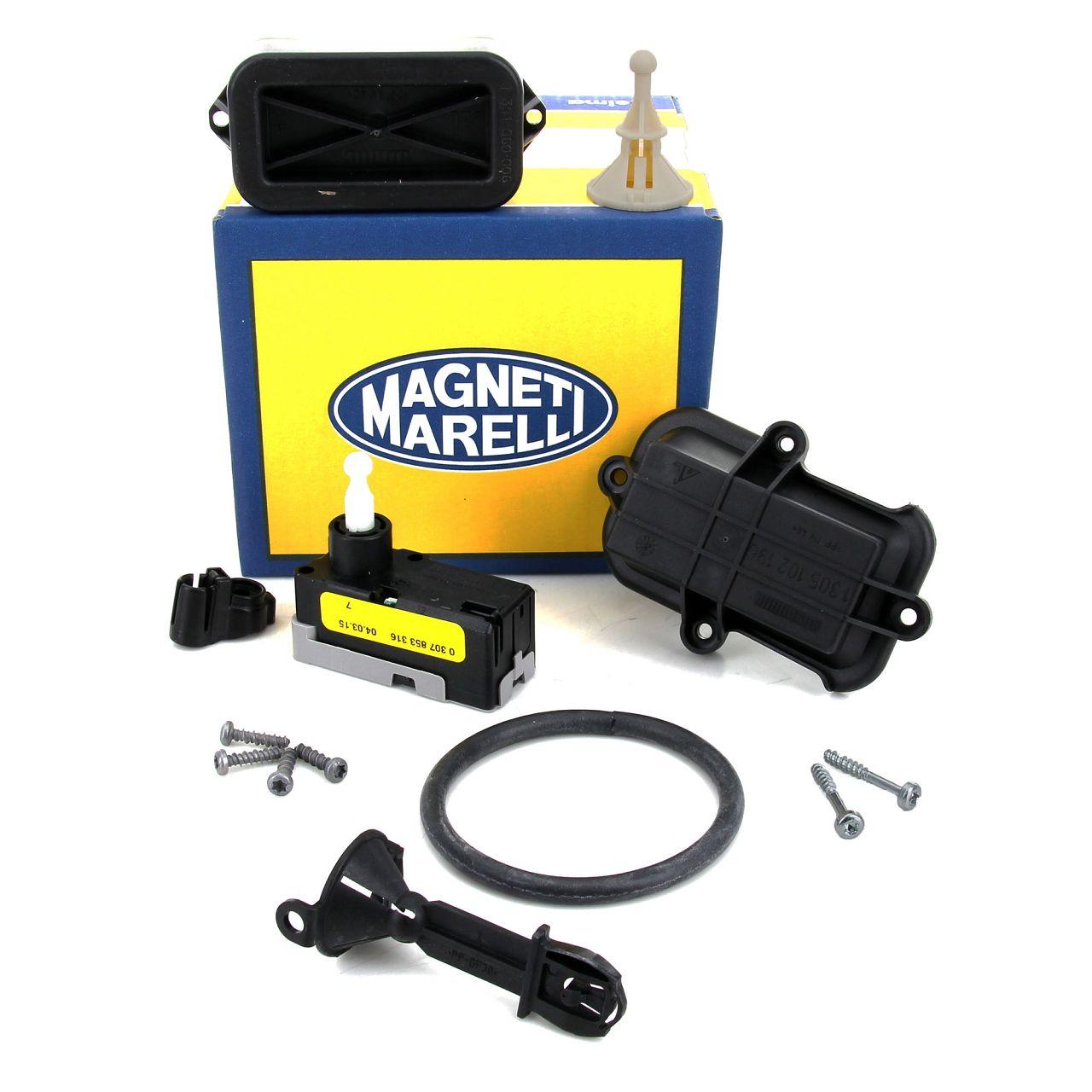 MAGNETI MARELLI Stellmotor Scheinwerfer Leuchtweitenregulierung für OPEL CORSA C