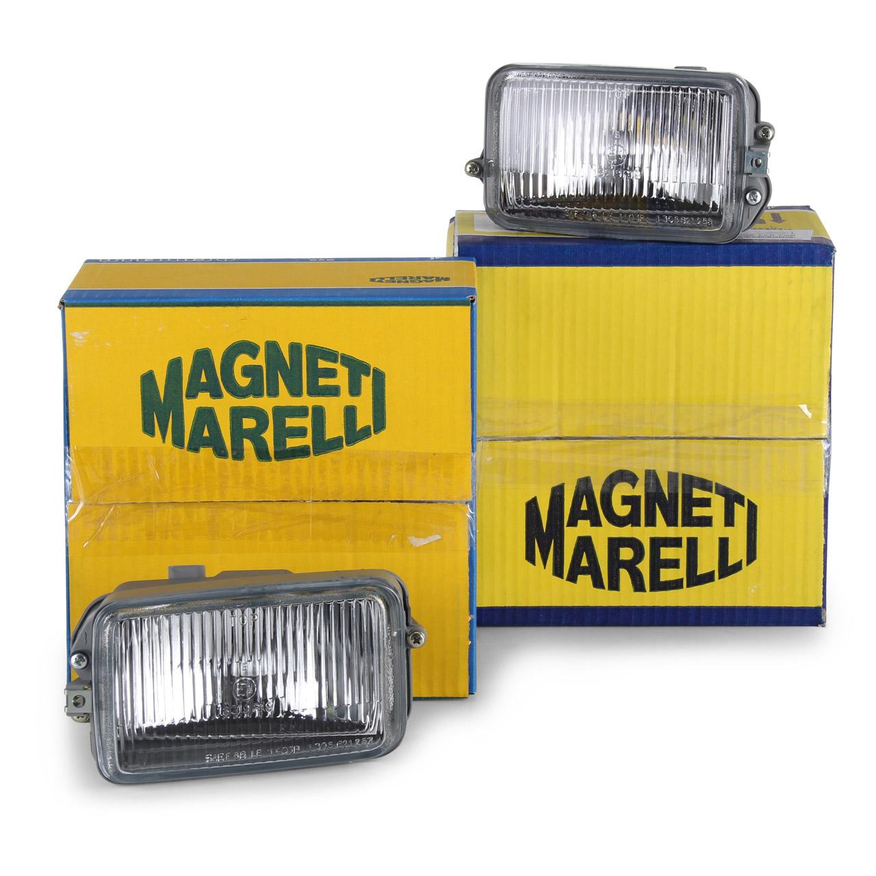 2x MAGNETI MARELLI Nebelscheinwerfer komplett PORSCHE 911 964 links + rechts