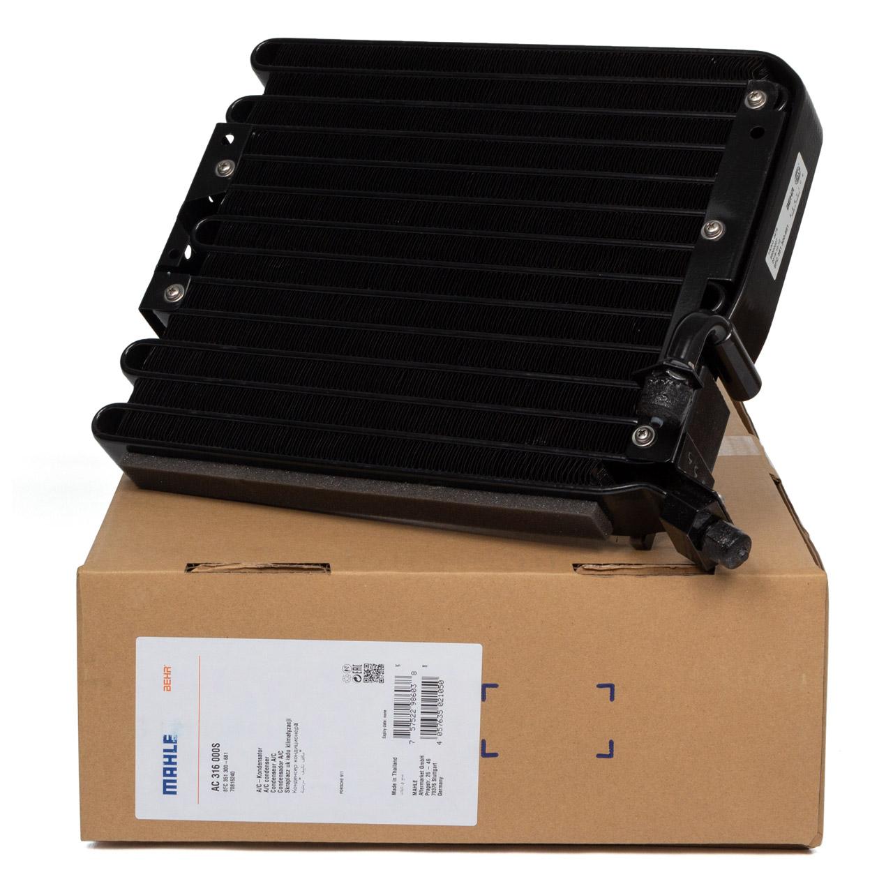 MAHLE Kondensator Klimaanlage PORSCHE 964 + 993 bis 1994 vorne 99357301102