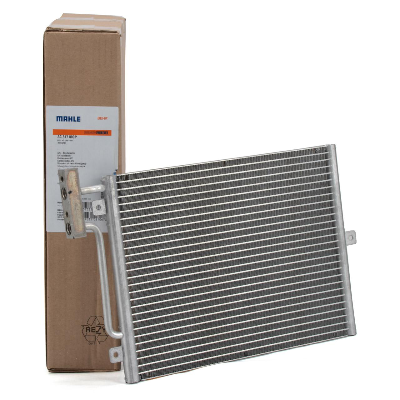 MAHLE Kondensator Klimaanlage PORSCHE 996 Boxster (986) vorne 99757391101